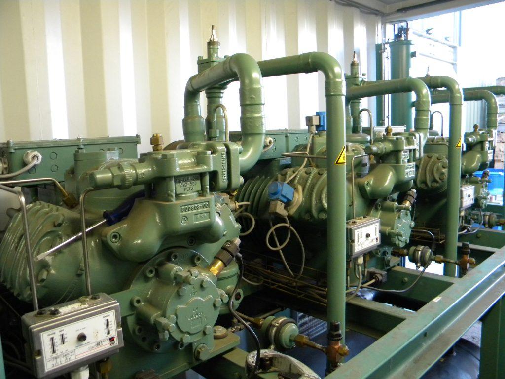 Bitzer refrigeration plant