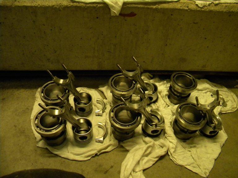 Compressor piston rebuild on site