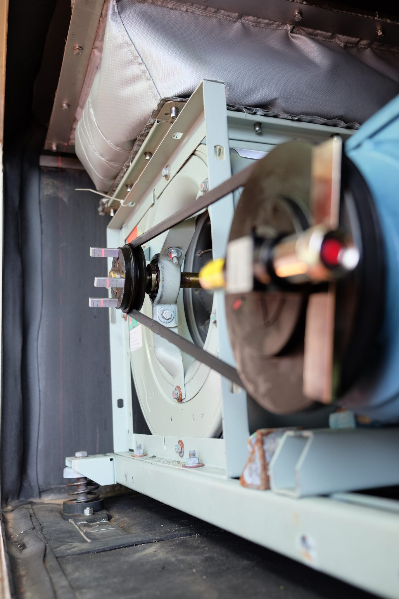 V-belt alignment